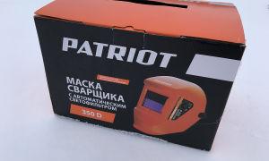 О покупке сварочной маски Patriot 350D