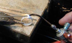 Как паять серебро