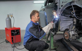 Способы сварки автомобиля при ремонте