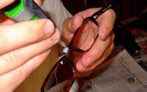 Как отремонтировать очки пайкой и другими способами
