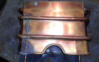 Как при помощи пайки отремонтировать газовую колонку