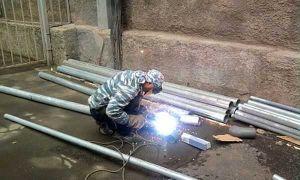 Как сваривают оцинкованный металл