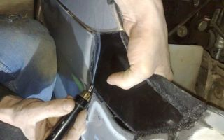 Советы по пайке автомобильного бампера