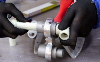 Правила работы с паяльником для пластиковых труб